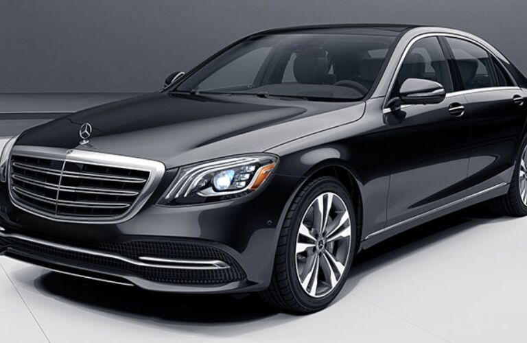 Front view of a 2018 Mercedes-Benz S-Class