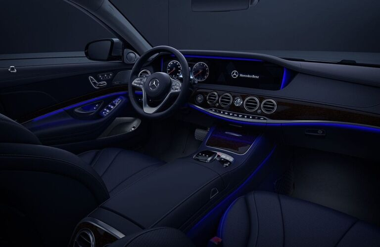 Interior cabin of the 2019 Mercedes-Benz S-Class