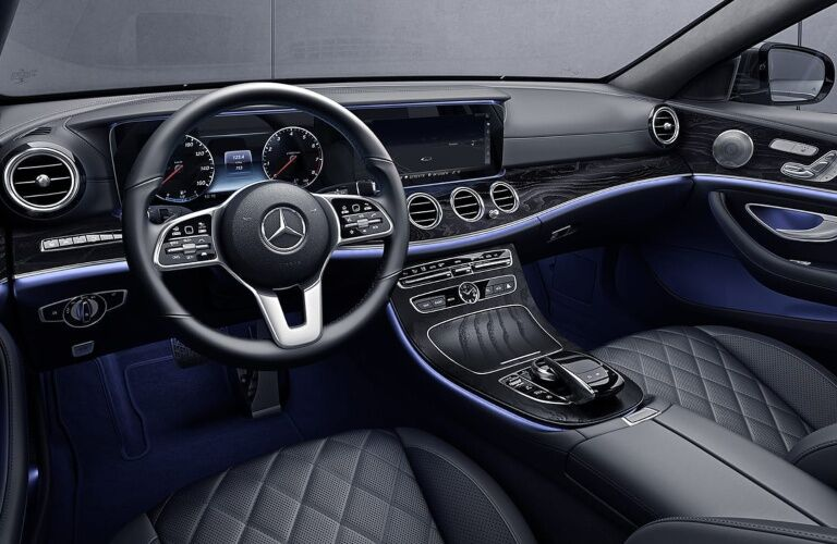 Cockpit view in the 2019 Mercedes-Benz E-Class Wagon