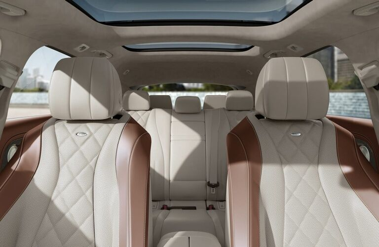 Interior seating of the 2019 Mercedes-Benz E-Class Wagon