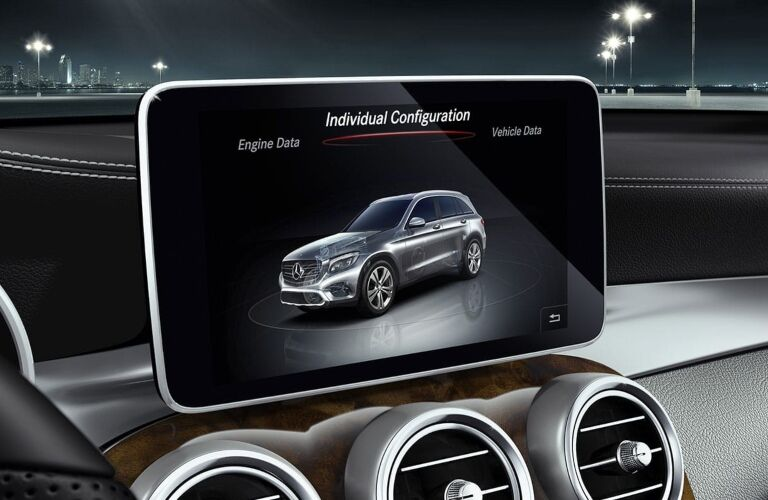 Infotainment system in the 2019 Mercedes-Benz GLC