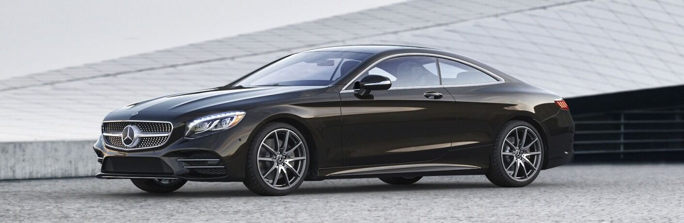 Side view of a 2019 Mercedes-Benz S-Class Coupe