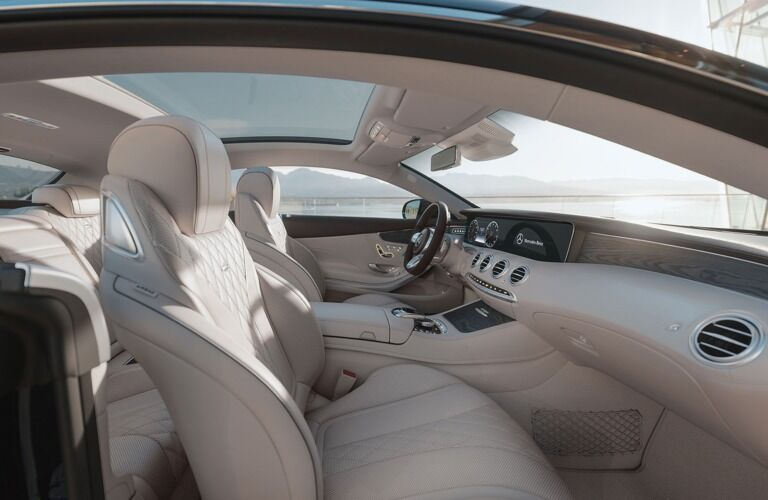 Interior of the 2019 Mercedes-Benz S-Class Coupe