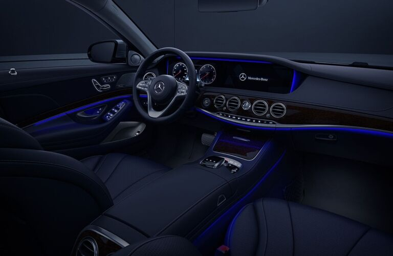 LED interior of the 2019 Mercedes-Benz S-Class