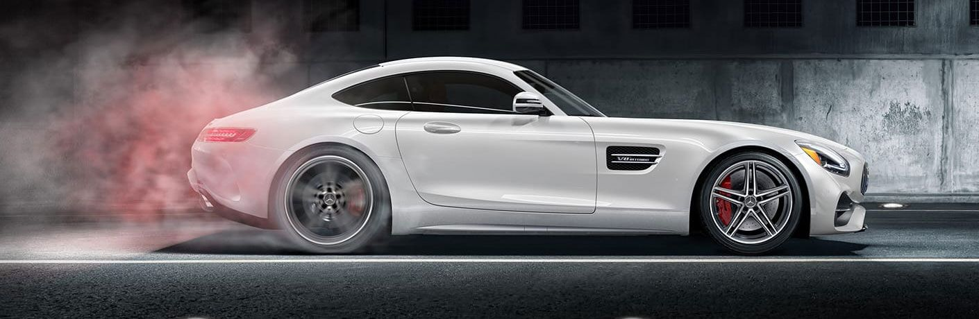 2020 Mercedes-Benz AMG® GT Coupe side profile