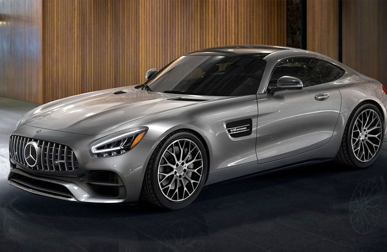 2020 Mercedes-Benz AMG® GT Coupe front and side profile