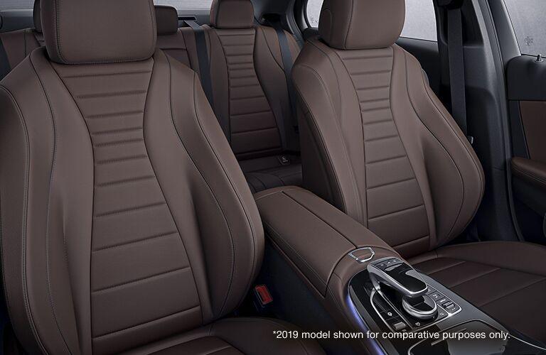 2020 Mercedes-Benz E-Class passenger seats