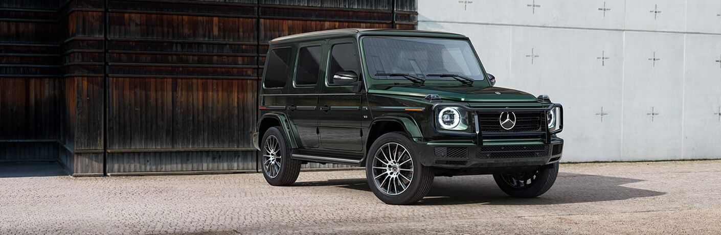 2020 Mercedes-Benz G-Class front and side profile
