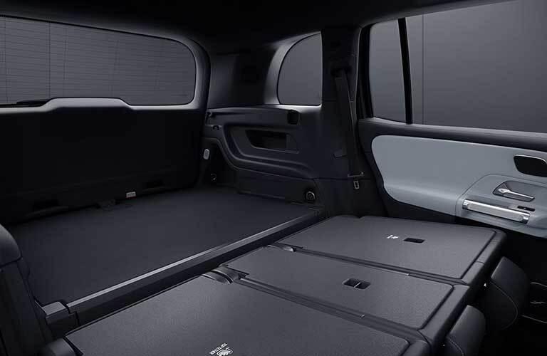 2020 Mercedes-Benz GLB rear cargo area