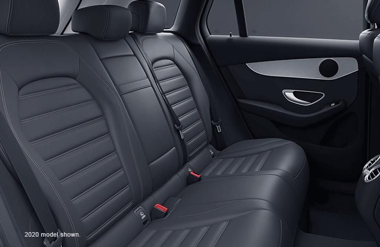 Rear interior row of the 2020 Mercedes-Benz GLC