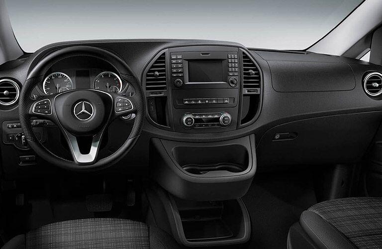 2020 Mercedes-Benz Metris Cargo Van dashboard