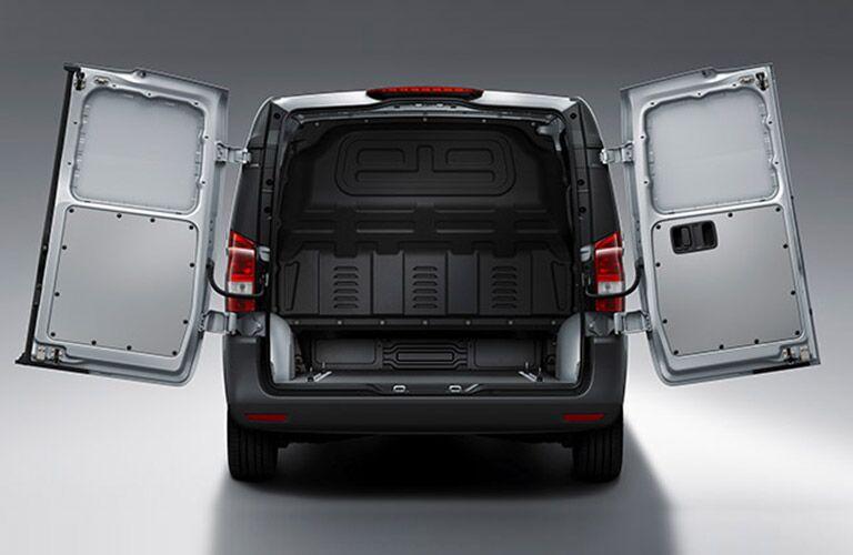 2020 Mercedes-Benz Metris Cargo Van with rear doors open