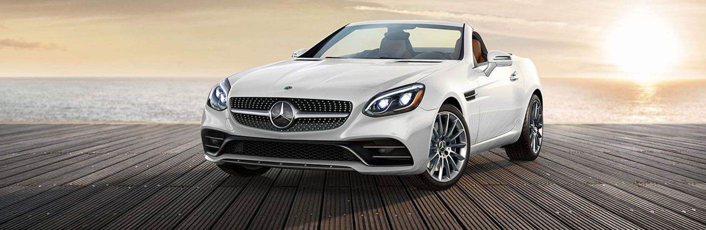 2020 Mercedes-Benz SLC Roadster front profile