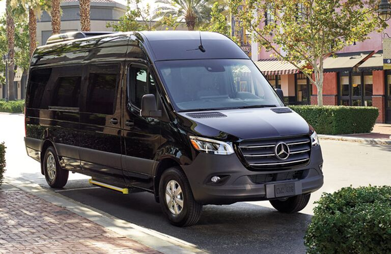 2020 Mercedes-Benz Sprinter Passenger Van parked on a street