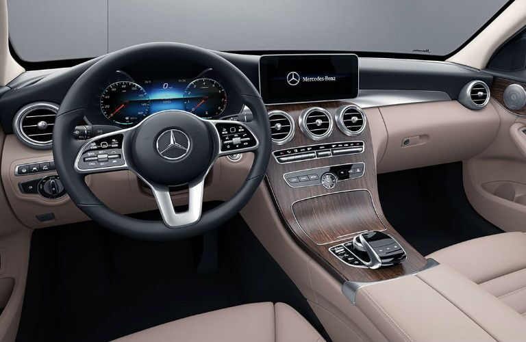 2020 Mercedes-Benz C-Class dashboard features