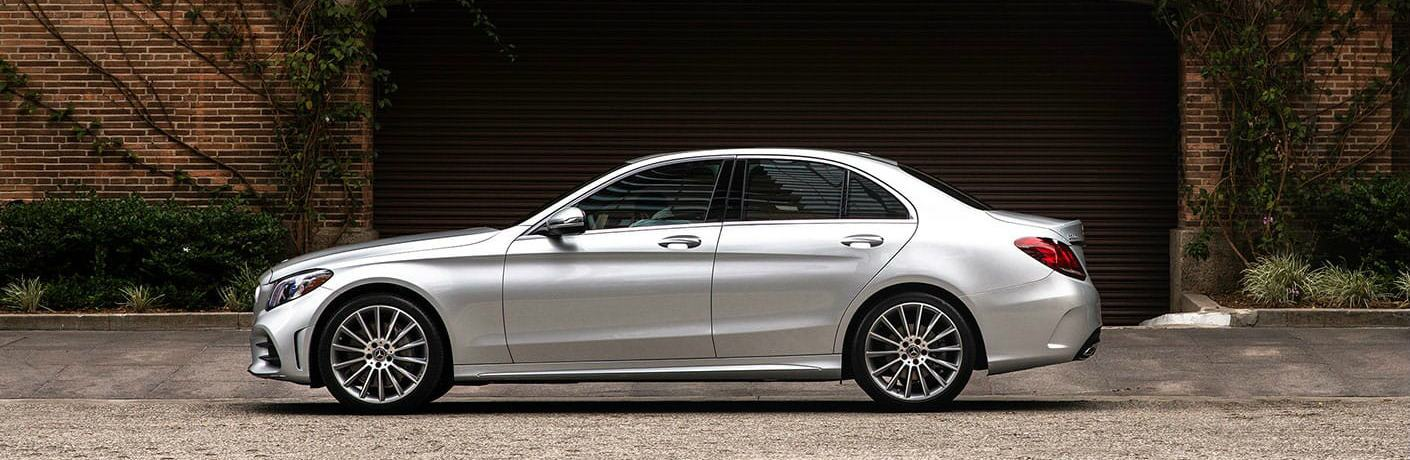 2020 Mercedes-Benz C-Class side profile