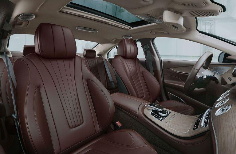 2020 Mercedes-Benz CLS front seats
