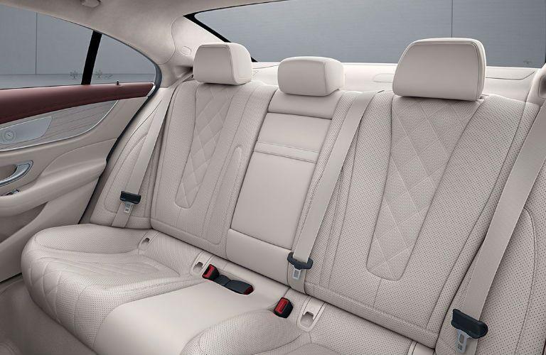 2020 Mercedes-Benz CLS rear seats