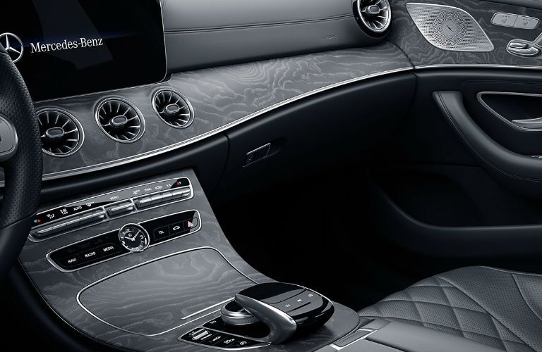 2020 Mercedes-Benz CLS center console and dashboard