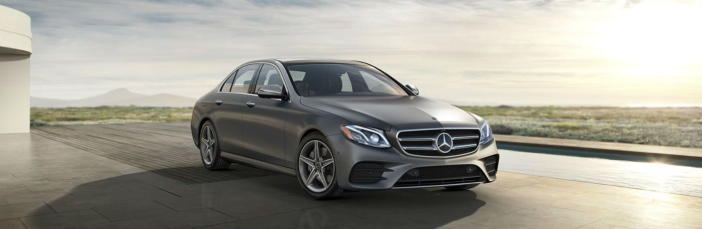 2020 Mercedes-Benz E-Class front and side profile