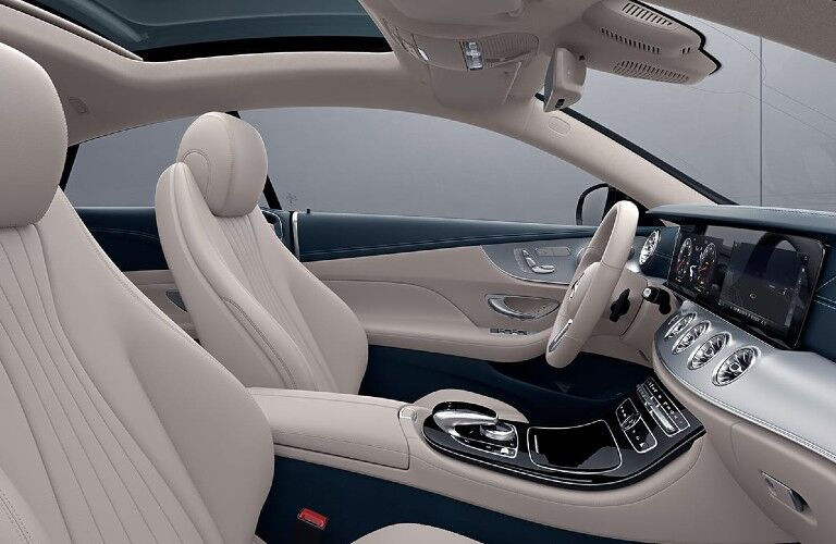 2020 Mercedes-Benz E-Class Coupe front seats