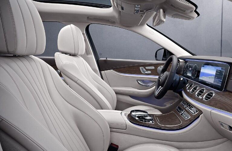 2020 Mercedes-Benz E-Class Wagon front passenger seats