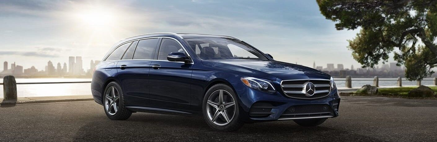 2020 Mercedes-Benz E-Class Wagon front and side profile