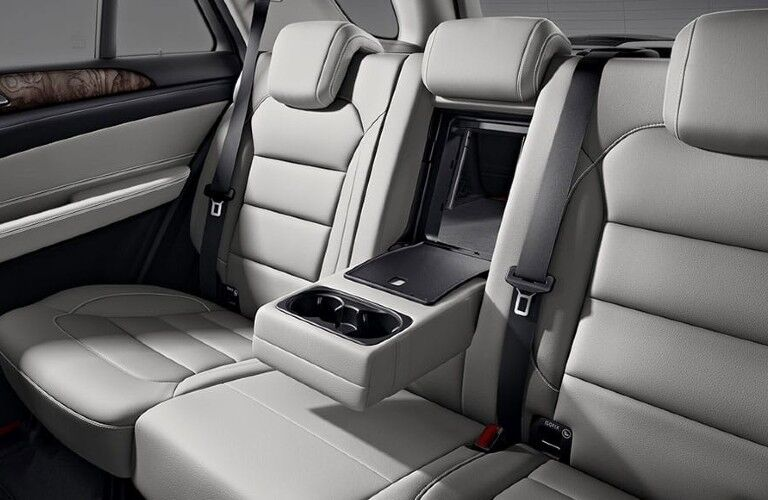 2020 Mercedes-Benz GLE Coupe rear passenger seats