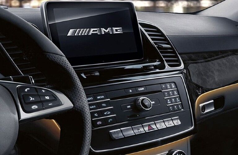 2020 Mercedes-Benz GLE Coupe infotainment system
