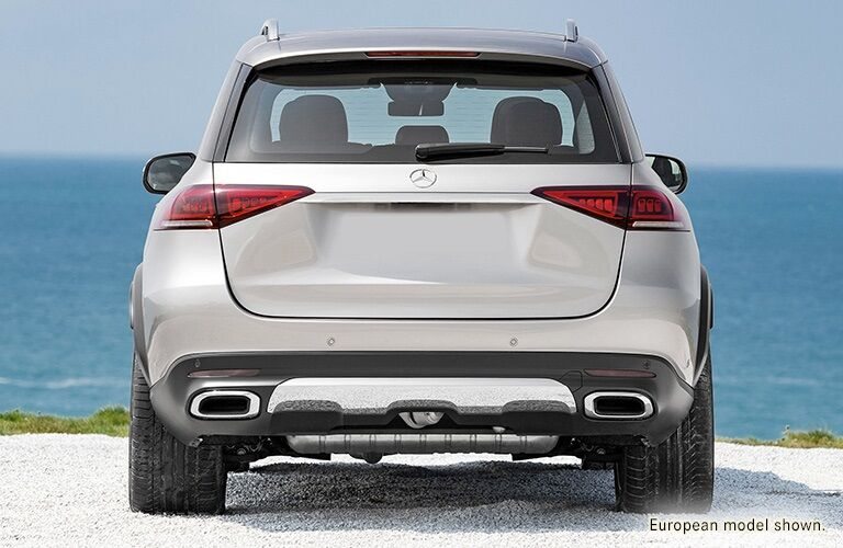 Rear view of a 2020 Mercedes-Benz GLE