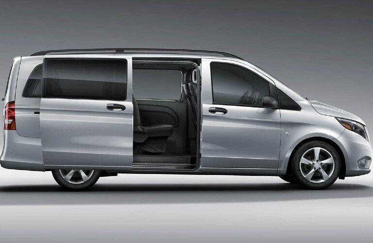 2020 Mercedes-Benz Metris Passenger Van side profile with door open