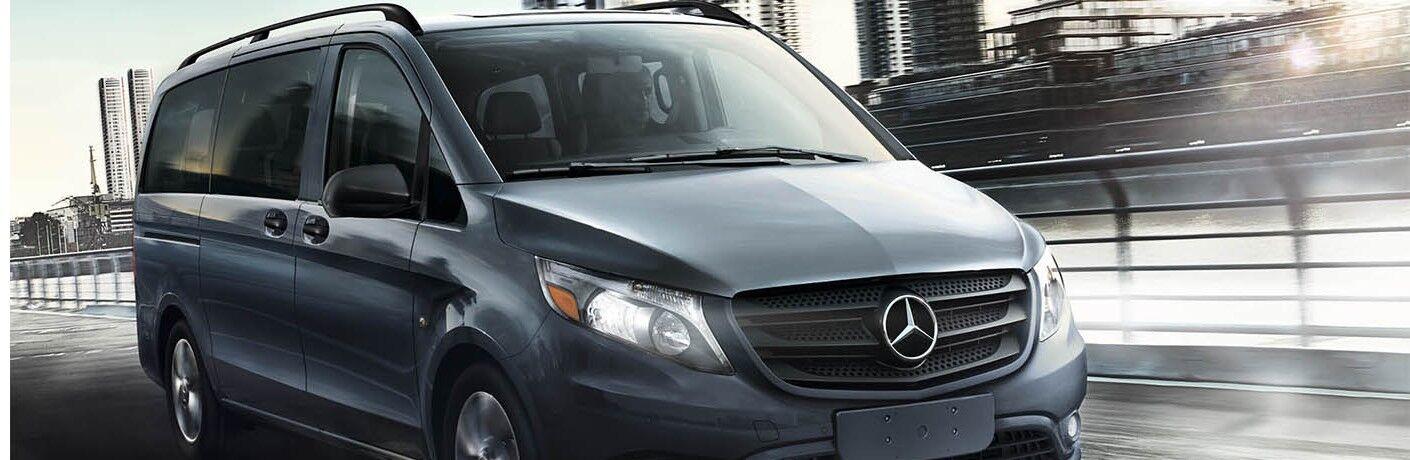 2020 Mercedes-Benz Metris Passenger Van driving on a road