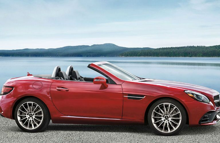 2020 Mercedes-Benz SLC Roadster side profile