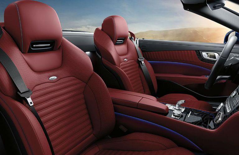 2020 Mercedes-Benz SL passenger seats