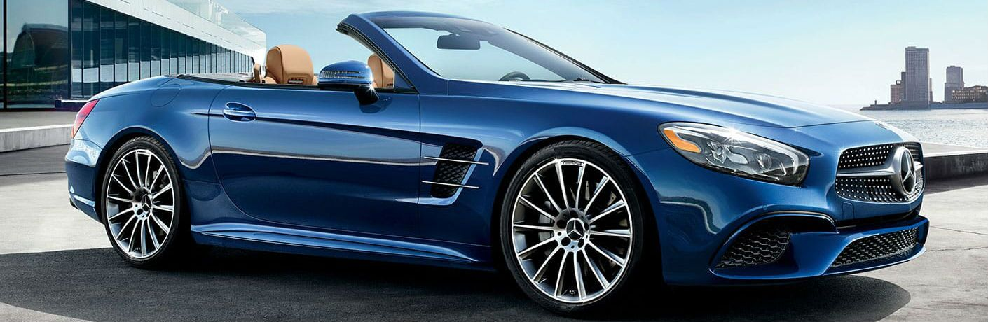 2020 Mercedes-Benz SL side profile