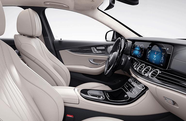 2021 Mercedes-Benz E-Class front passenger seats