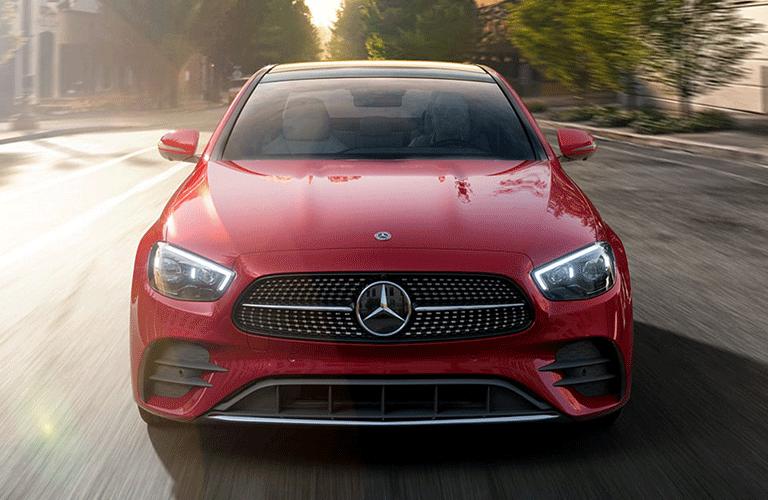 2021 Mercedes-Benz E-Class front profile