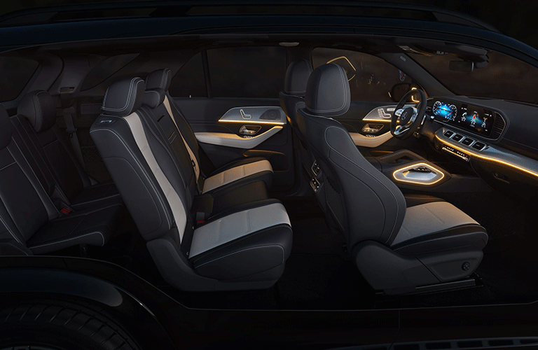 2021 Mercedes-Benz GLE interior passenger seats