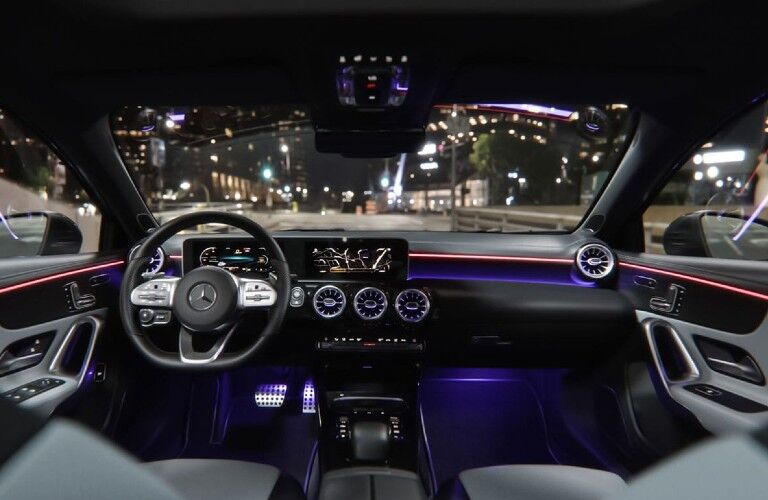 2021 Mercedes-Benz A-Class front interior
