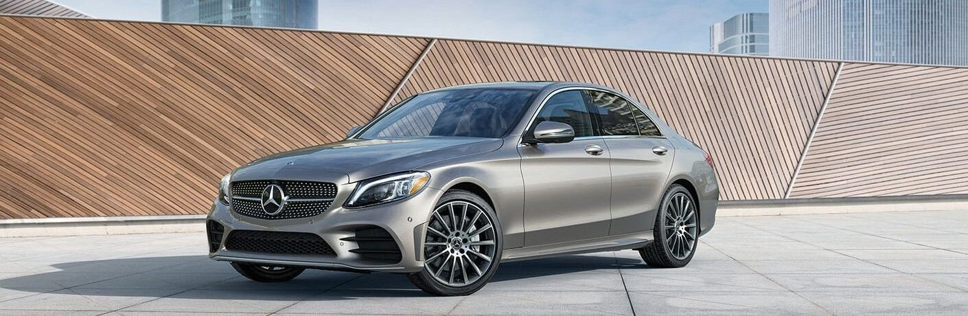 2021 Mercedes-Benz C-Class front and side profile
