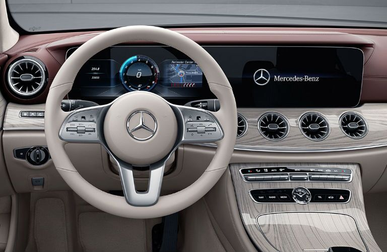 2021 Mercedes-Benz CLS dashboard and steering wheel