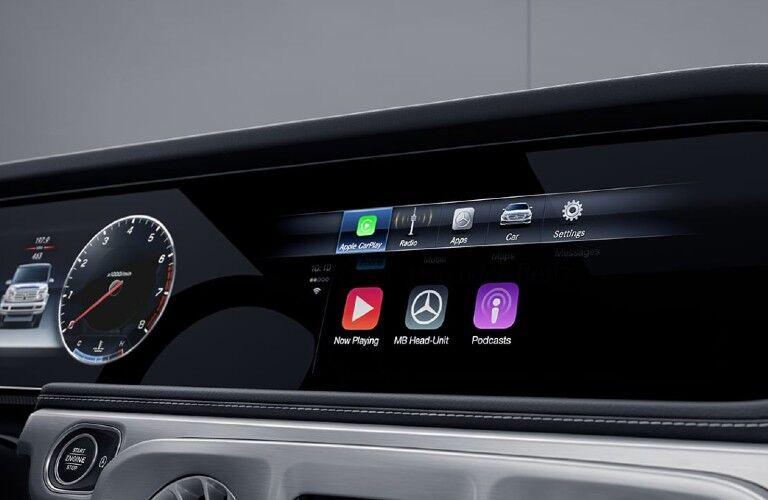 2021 Mercedes-Benz G-Class display screen