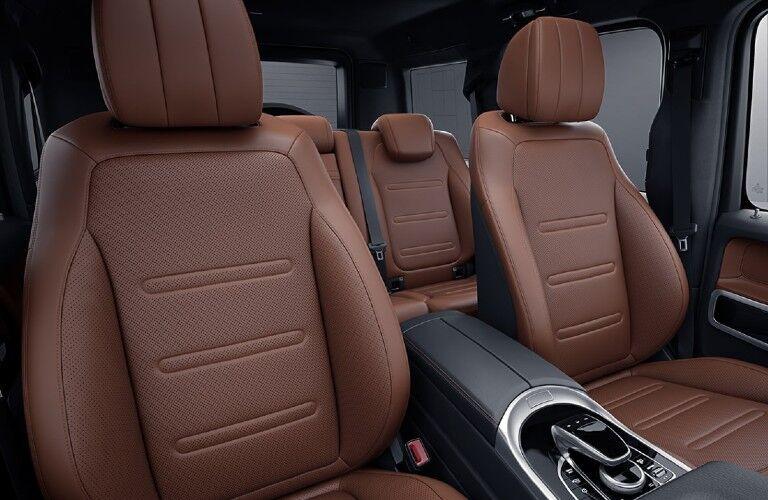 2021 Mercedes-Benz G-Class passenger seats