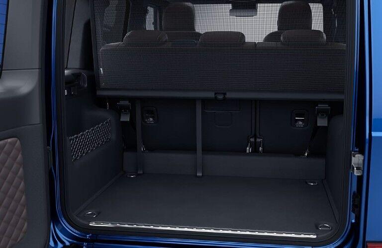 2021 Mercedes-Benz G-Class rear cargo area