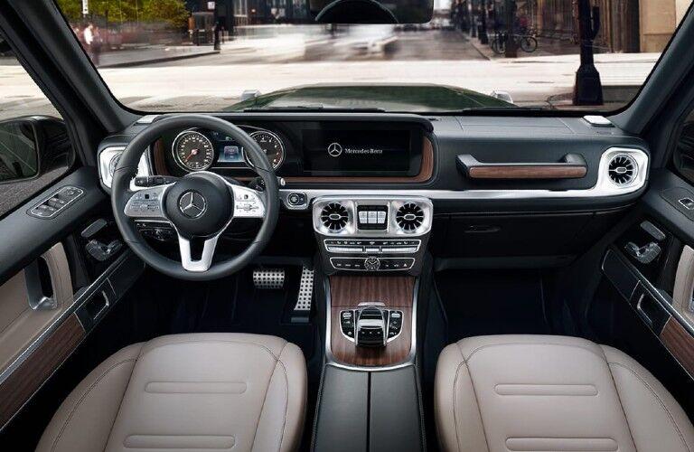 2021 Mercedes-Benz G-Class dashboard