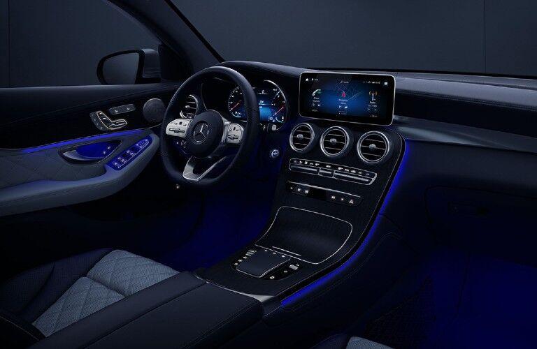 2021 Mercedes-Benz GLC Coupe front interior