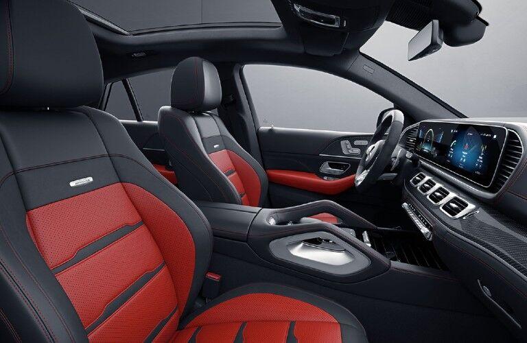 2021 Mercedes-Benz GLE Coupe front passenger seats