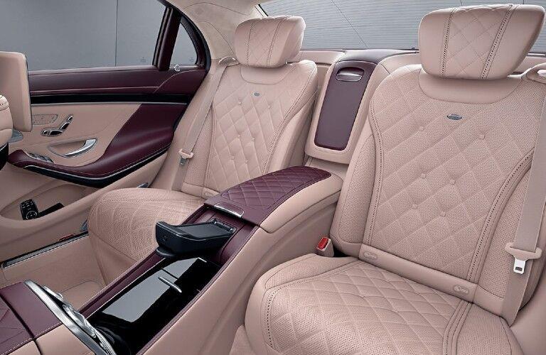 2021 Mercedes-Benz S-Class rear passenger seats
