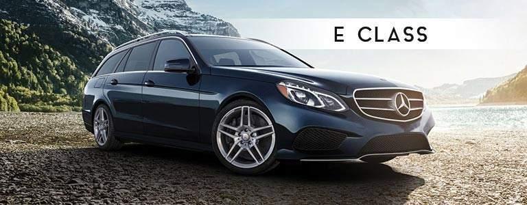 Mercedes-Benz E-Class front side exterior