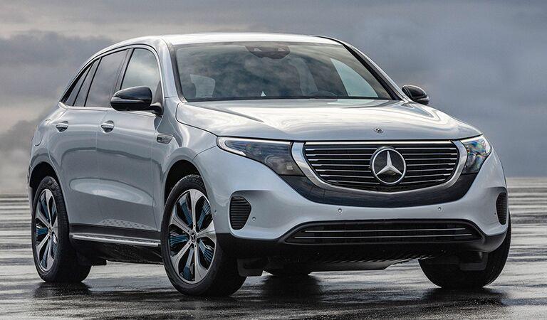 Mercedes-Benz EQC front profile